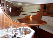 Interior of GLADIATOR project cutter